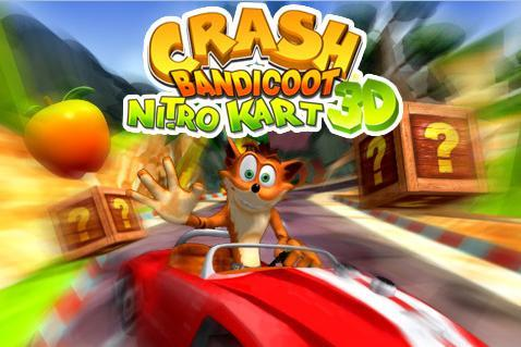 Crash Bandicoot Nitro Kart 3D