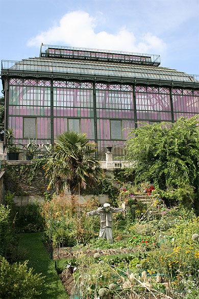 Serres du jardin des plantes de paris bliss in the city for A la verticale du jardin grenoble