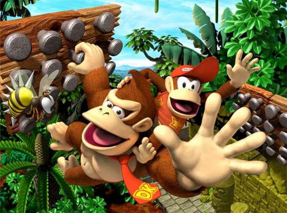 affiche La Plan�te de Donkey Kong